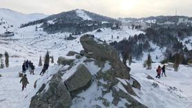 Kar kalınlığı 50 santimetreye ulaştı