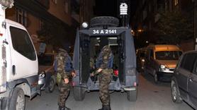İSTANBUL'DA TERÖR OPERASYONU YAPILDI