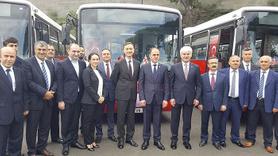 TİKA ve İBB Tiflis'e 5 belediye otobüsü hediye etti