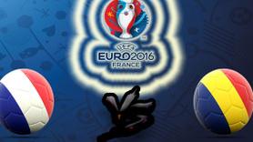EURO 2016'da açılış maçını ev  sahibi  kazandı