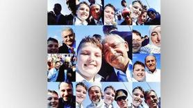 Siyasilerle çektiği 'selfie' ünlü oldu