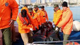 Denize düşen gencin cesedi bulundu