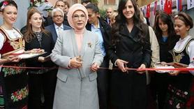 Emine Erdoğan Sırbistan'da TİKA projesinin açılışını yaptı