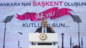 Başbakan Yıldırım'dan Ankara'ya iki müjde birden