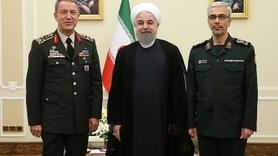 Orgeneral Akar, İran Cumhurbaşkanı Ruhani tarafından kabul edildi