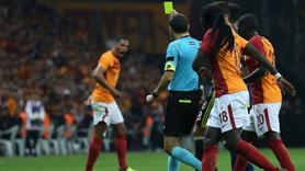 Galatasaray yıldızlardan Çüneyt Çakır'a tepki