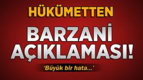 Çavuşoğlu'ndan Barzani açıklaması