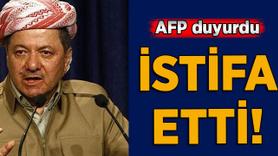 AFP: Barzani istifa etti