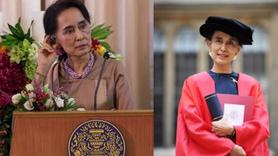 Katliamcı Myanmar liderine İngiltere'den şok