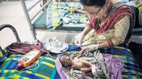 Bebeklerin çoğu ölümle pençeleşiyor