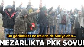 Mezarlıkta PKK propagandası: 10 gözaltı