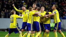 Cüneyt Çakır'ın düdük çaldığı maçta İsveç İtalya'yı devirdi