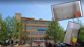 İstanbul'un göbeğinde rutubetli okul