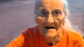 93 yaşındaki kadın kelepçelenip cezaevine atıldı!