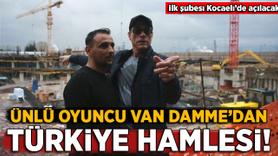 Ünlü oyuncu Van Damme'dan Türkiye hamlesi