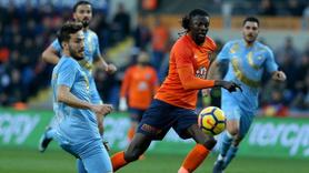 Osmanlıspor'u deviren Başakşehir Süper Lig'in yeni lideri