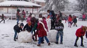 Okullar tatil edildi... Üç ilde eğitime kar engeli!