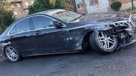 Süper Lig ekibinin başkanı trafik kazası geçirdi