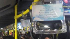 İETT otobüslerinde ayet ve hadisli dönem!