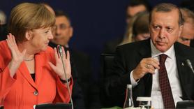 Erdoğan Merkel  May ve Macron ile görüşecek