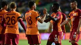 Müthiş maçta gülen Galatasaray