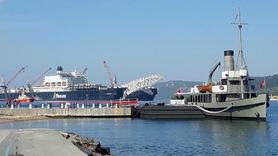 Türk Akımı için gelen dev gemi, Çanakkale Boğazı'nda