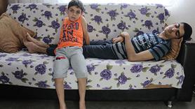 İki kardeş aynı hastalığın pençesinde