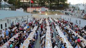 Türkmen kampında iftar