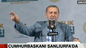 Cumhurbaşkanı Erdoğan: , Fırat Kalkanı'nda ne yaptıysak aynısını yapar