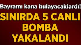 Valilik açıkladı! 5 canlı bomba yakalandı