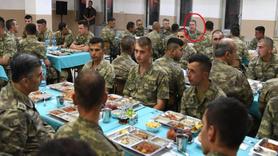Genelkurmay Başkanı ve kuvvet komutanları son iftarını orada yaptı