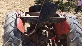 Muhtar ve eşi traktör kazasında hayatını kaybetti