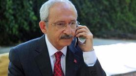 Kılıçdaroğlu'ndan Bakan Arslan'a telefon
