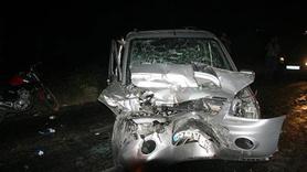 Kilis'te zincirleme trafik kazası: 4'ü ağır 9 yaralı
