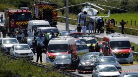 Saldırgan kaçtı, polis kurşun yağdırdı!