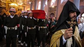 Kiliseden uğurlanan gazi vatan için Murat oldu