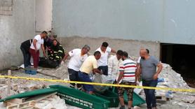 İnşaat iskelesinden düşen 2 işçi hayatını kaybetti
