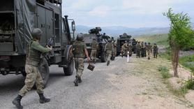 O ilde PKK'ya darbe... 5 terörist öldürüldü
