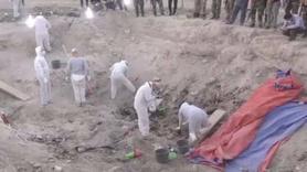 Toplu mezarda 550 ceset bulundu