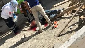 Suriyeli inşaat işçisinin feci ölümü