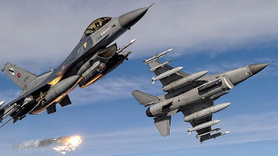Hudut birliğine saldıran PKK'lı teröristlere bomba yağdı