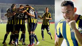 Fenerbahçe Alanyaspor'a patladı! 5 gol, 1 penaltı...