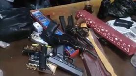 Ataşehir'de çiçekçide silah ticaretine polis baskını