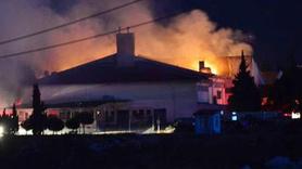 Cezaevinde yangın: Ekipler sevk edildi