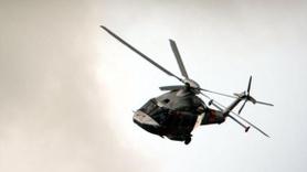 Belçika ordusunun hava gösterisinde pilot helikopterden düştü