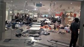 Irkçı reklam sonrasında ünlü mağazaya saldırı