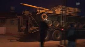 Büyük hareketlilik... Hatay'da tanklar sınıra ulaştı