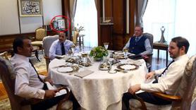 Katar Emiri'nin ziyaretinde dikkat çeken detay