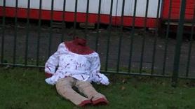 Avrupa ülkesinde camiye çirkin saldırı