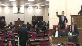 KKTC Meclisi'nde Zeytin Dalı Harekatı gerginliği
